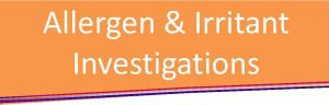 Allergen Investigation - Tag
