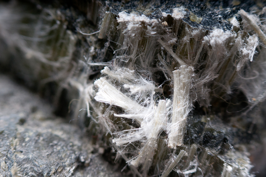 Asbestos testing survey of chrysotile