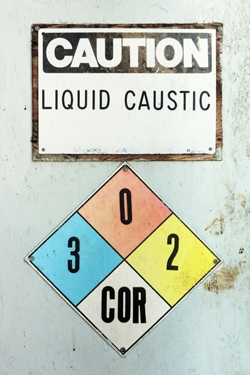 OSHA Caution Sign, industrial hygiene