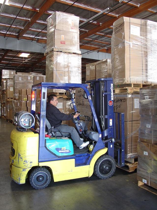 Forklift Driver No Belt Karl Environmental Group