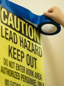 EPA Lead Renovator (RRP) 4-hour Refresher Class